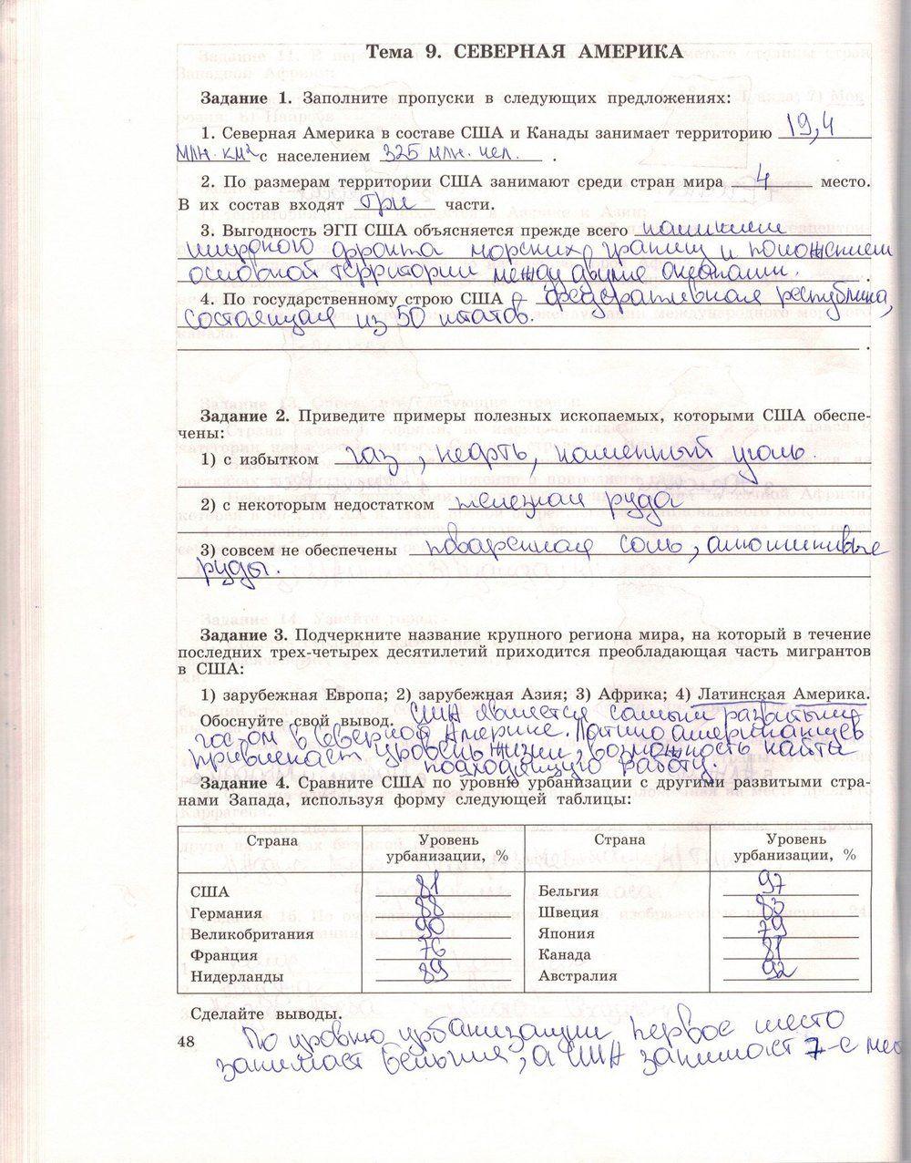 6 класс биология рабочая тетрадь автор пасечник страница 44 заполните таблицу
