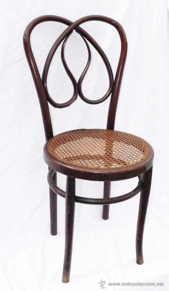 Silla antigua thonet o khon madera curva finales s xix o principios del xx 68 sillas - Sillas de madera antiguas ...
