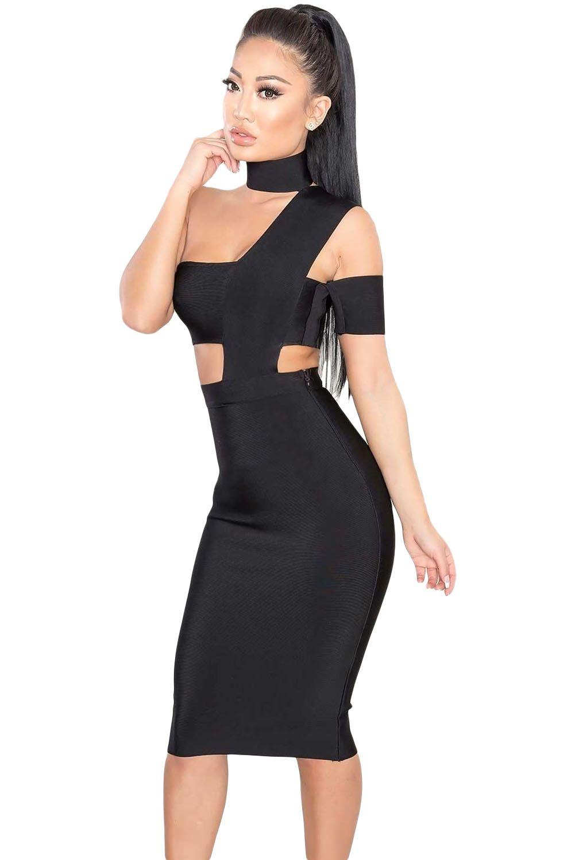 Fashion Dresses   Vestido escote y cintura asimetrica  8666b061ad31