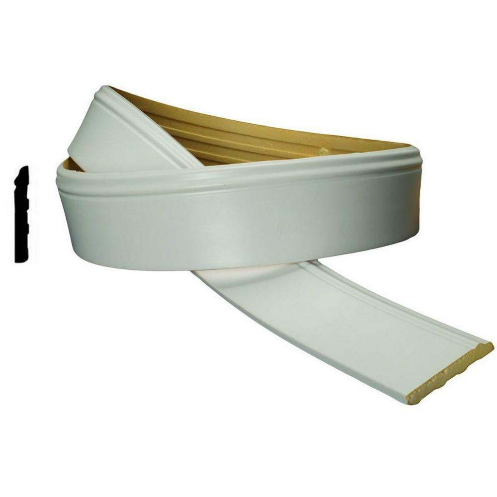 American Pro Decor Wm 620 4 In X 1 2 In X 94 1 2 In Flexible Polyurethane Base Moulding Pro Pack 2 Pcs X 94 5 In 5apd10206 In 2020 Base Moulding Flexible Molding Wood Molding