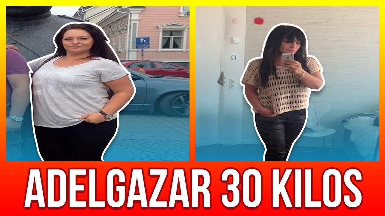bajar de peso rapido 30 kilos a libras