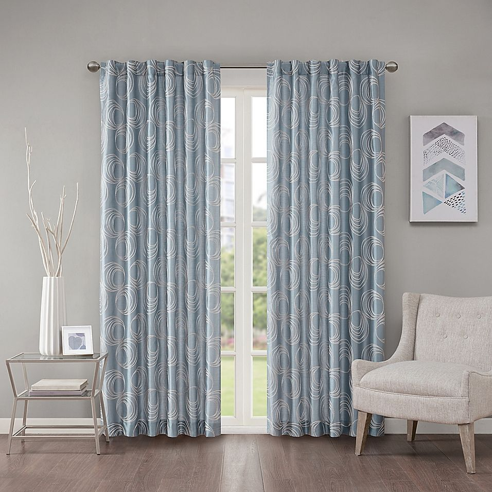 Regency Heights Cosma 108 Rod Pocket Back Tab Window Curtain