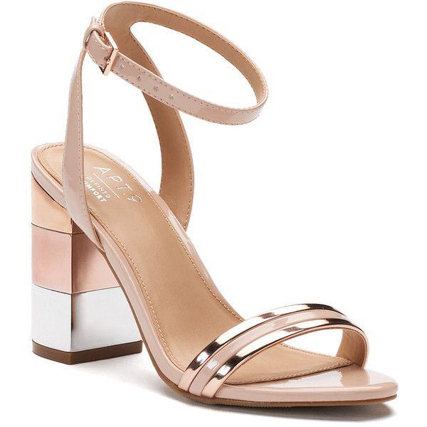 09b0cb0824e Apt. 9® Vet Women s Metallic High Heels ( 40) ❤ liked on Polyvore ...