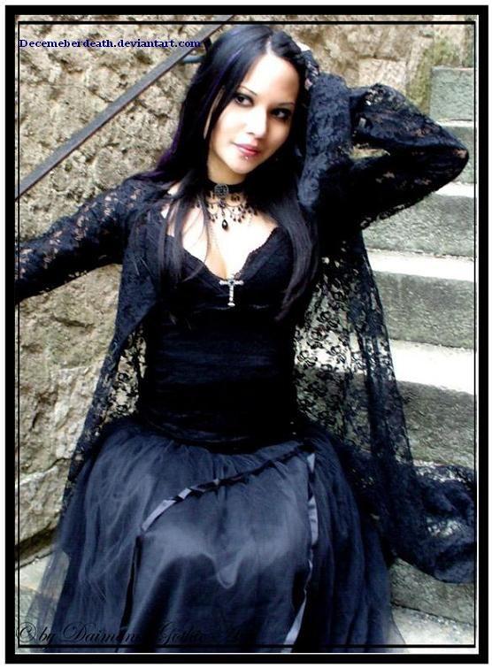 A Crossdressing Witch Victorian Goth