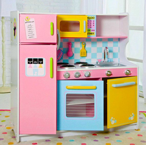 Merveilleux The Little Chef In Your Home Play Kitchen Girls By CRAFTartesanias