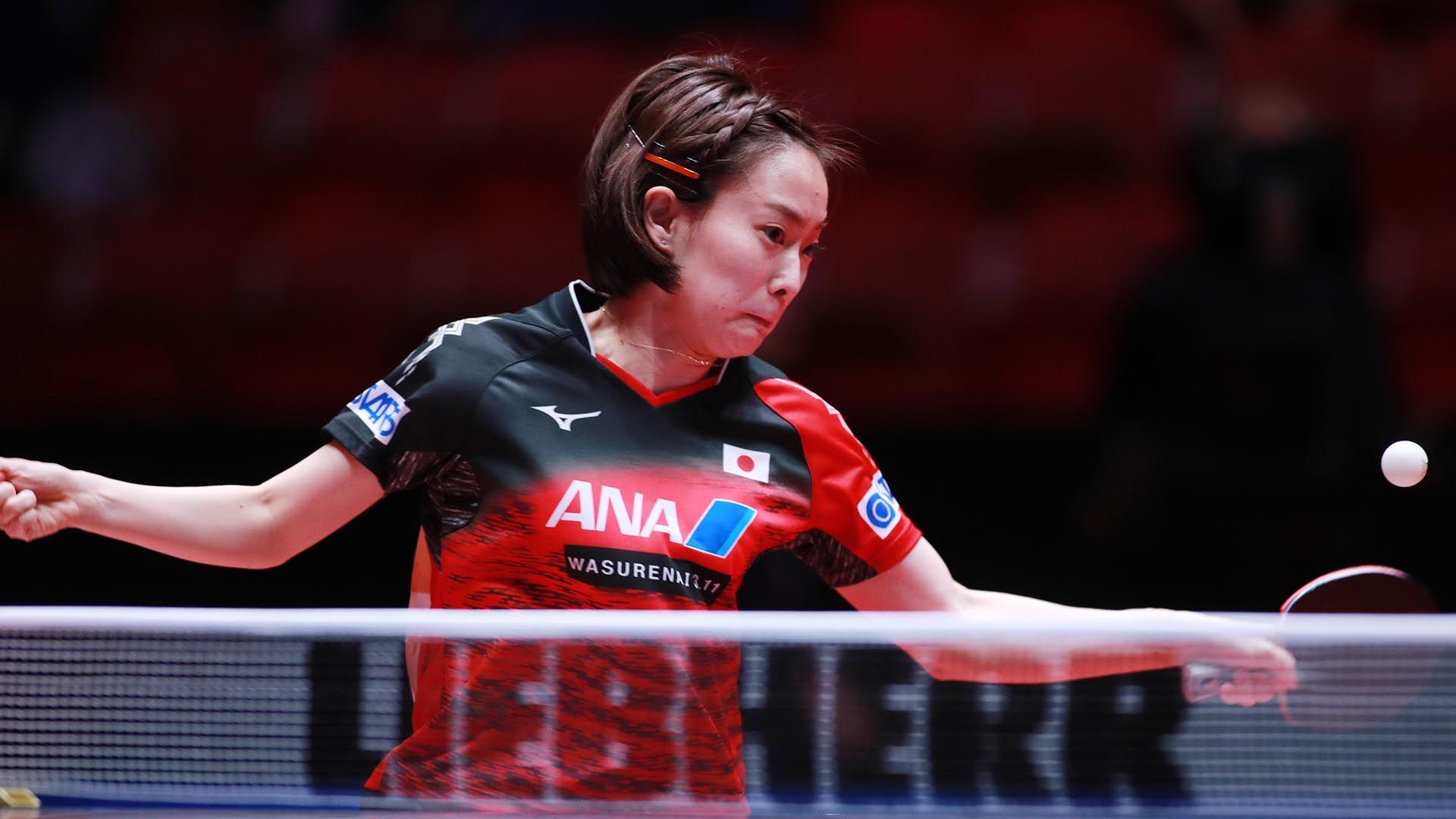 Japan Wins Historic Duel Kasumi Ishikawa Steadfast International Table Tennis Federation Table Tennis Japan Federation