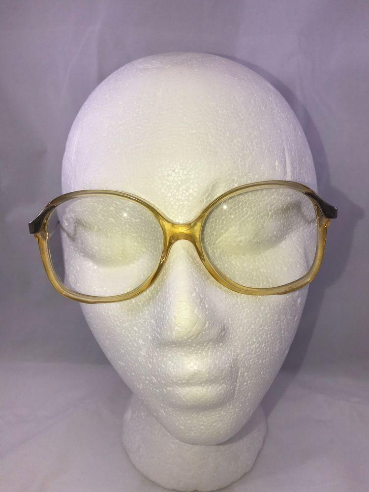 Vintage TGIF Extra Large Frame Prescription Glasses Collectible ...