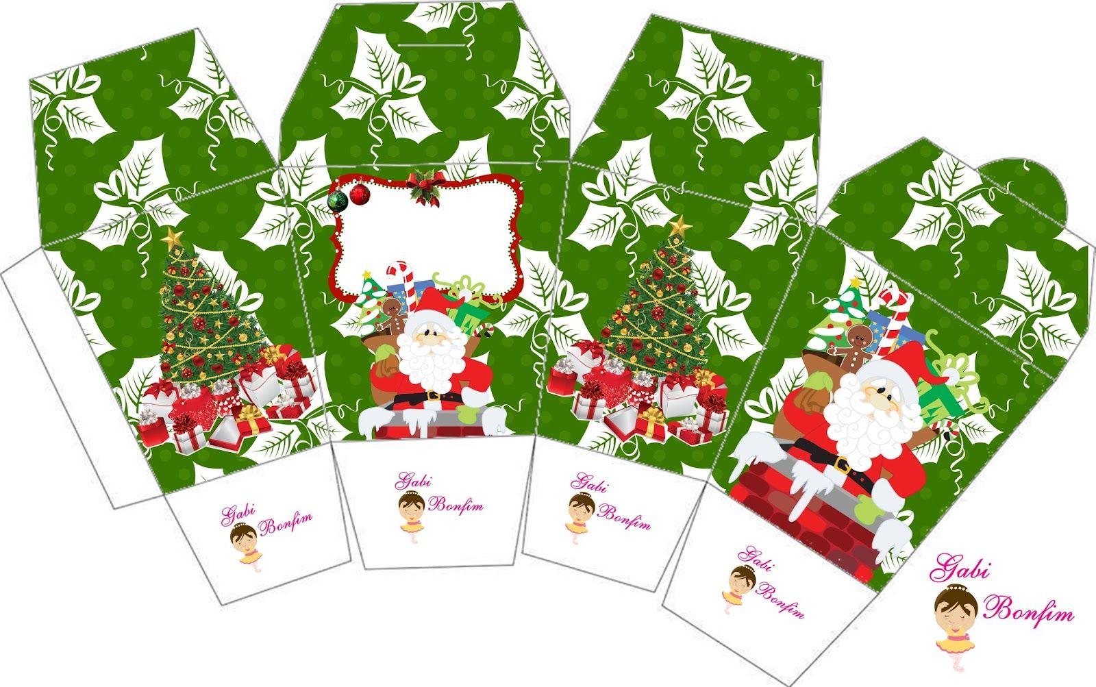 Kit De Personalizados Tema Natal Gratuito Natal Engracado