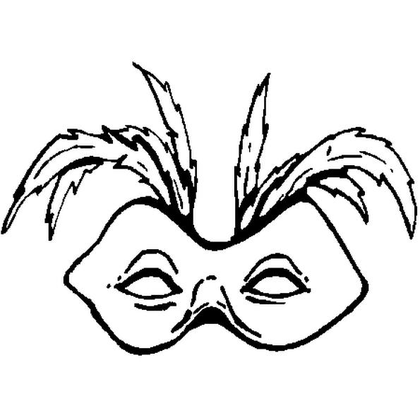 bébé styles frais une grande variété de modèles Le Masque pour Carnaval du dessin ne cache que les yeux. Le ...