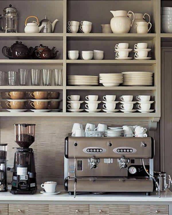 Organizing Kitchen Cabinets Martha Stewart I Like The Idea Of Open