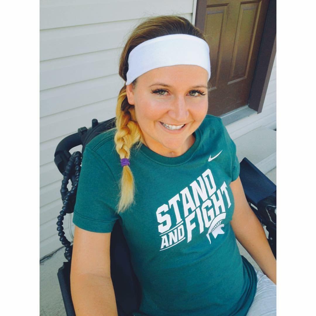 Quadriplegic football fan transitions from OSU to MSU