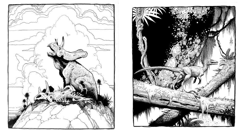 97816088786425jpg 1000550 dinosaur art illustration