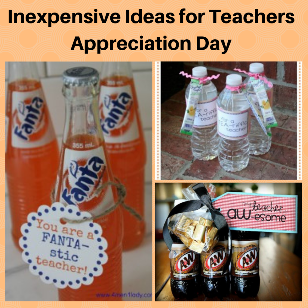 25 Cute and Inexpensive Ideas for Teachers Appreciation
