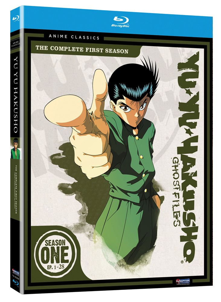 Yu Yu Hakusho Season 1 Bluray Anime Classics Blu ray