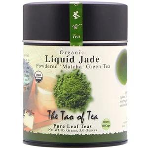 The Tao Of Tea オーガニック抹茶パウダー リキッドジェイド 3 Oz 85 G 말차 녹차 다도