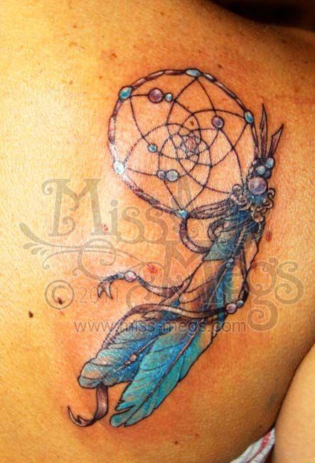 Native American Dreamcatcher Tattoos | Dreamcatcher ...