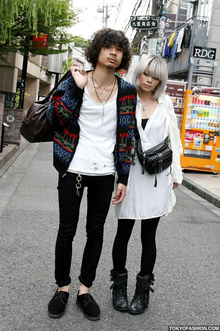 Japanese girl white guy