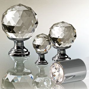Swarovski Crystal Door Knobs A Little Fancy For Your