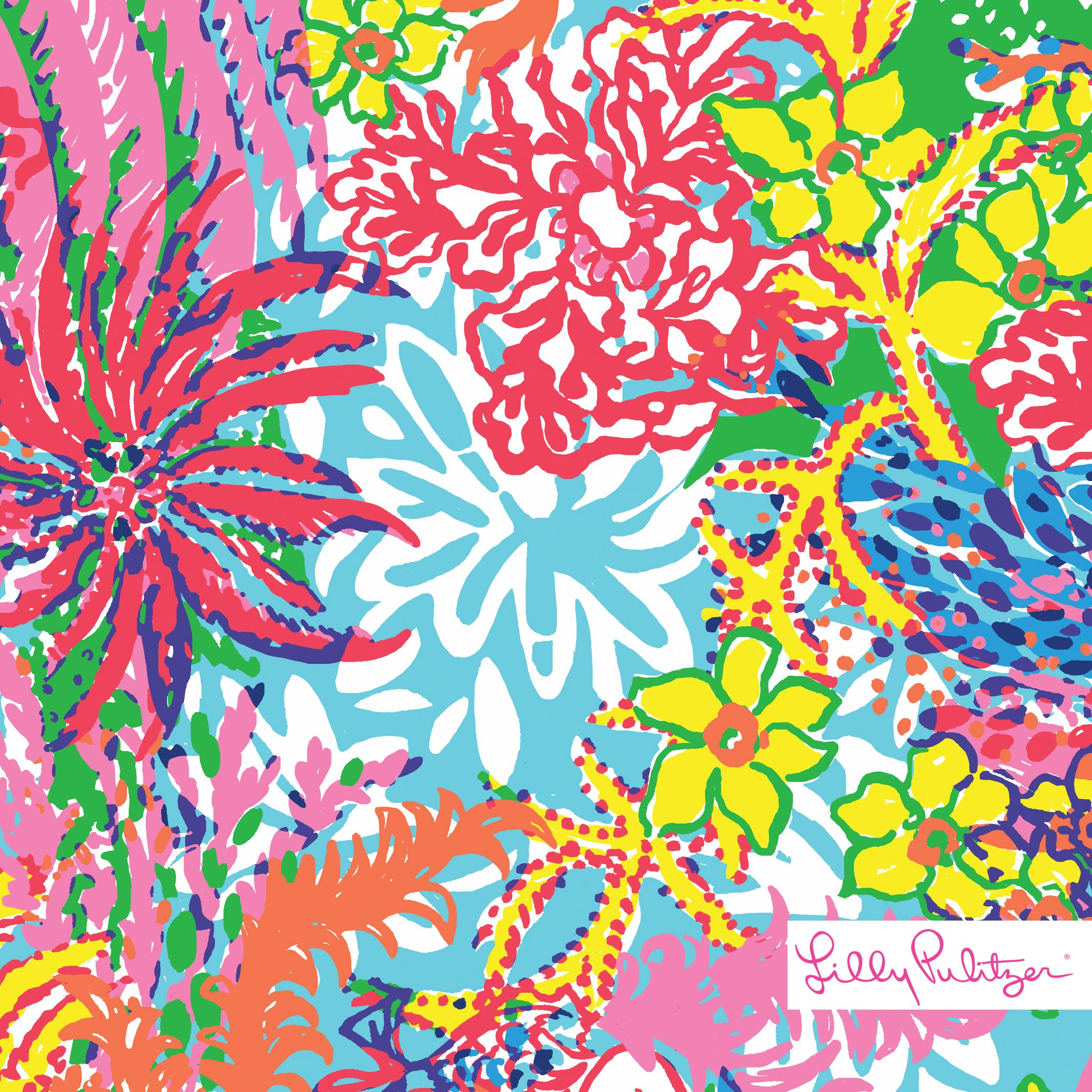 Lilly Pulitzer Fishing for Compliments Print   Printed   Pinterest ...