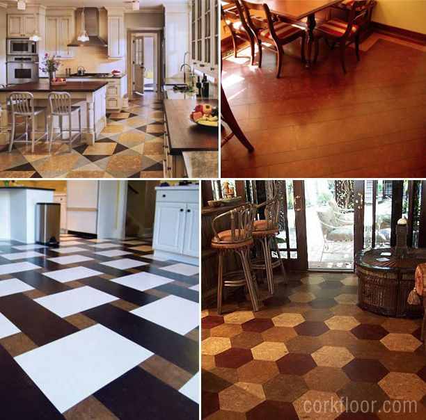 Linoleum Kitchen Flooring Ideas Part - 27: How I Decided To Choose Cork Tiles For Kitchen Floors