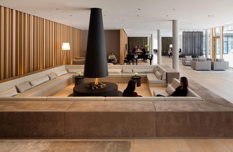 Winner of adaptive newbuild lanserhof tegernsee for Designhotel tegernsee