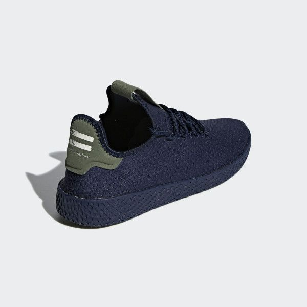 769bb9221 Pharrell Williams Tennis Hu Shoes Collegiate Navy   Collegiate Navy   Off  White B41807