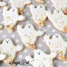 Halloween Cookies #halloweensugarcookies