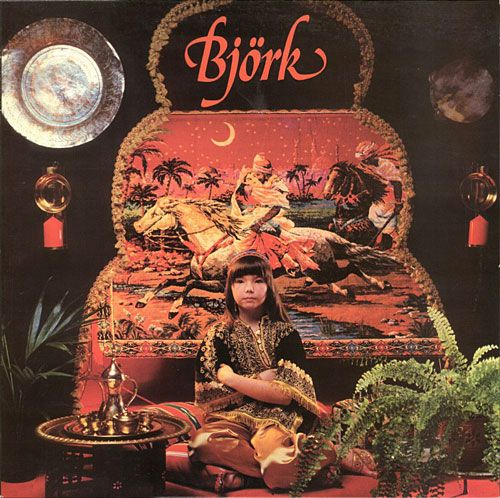 Image result for bjork 1st album 1977