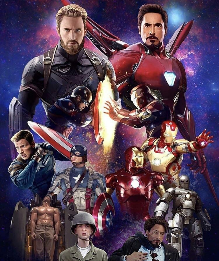 When Iron Man and Captian America come back together it's