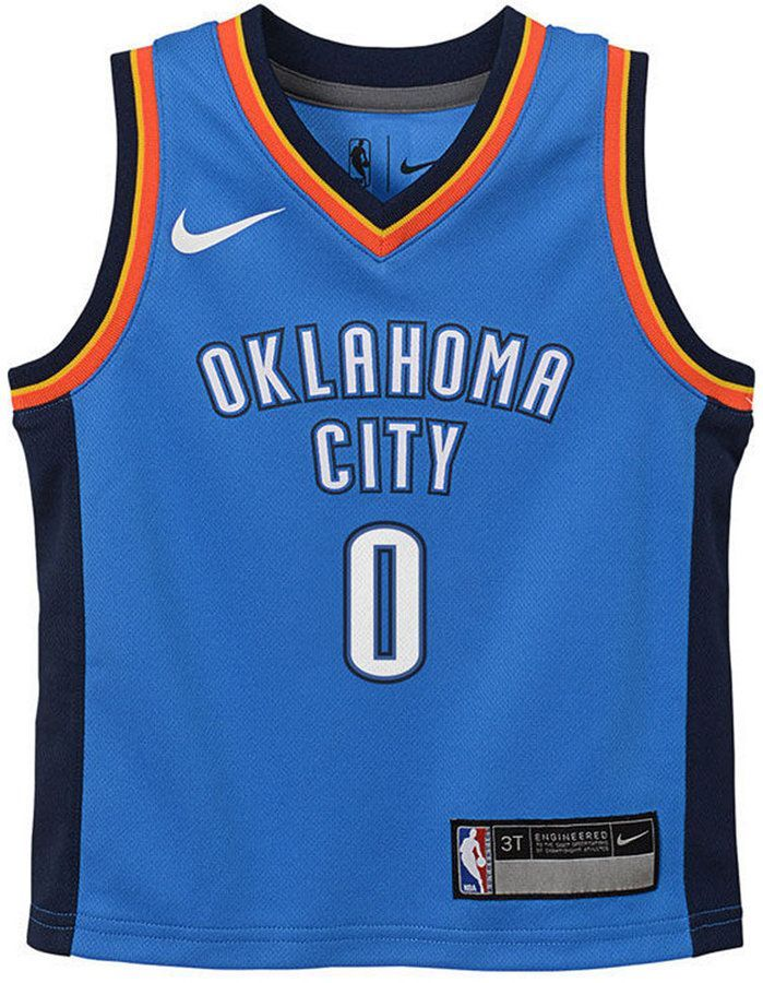 new product fde96 d3af0 Russell Westbrook Oklahoma City Thunder Icon Replica Jersey ...