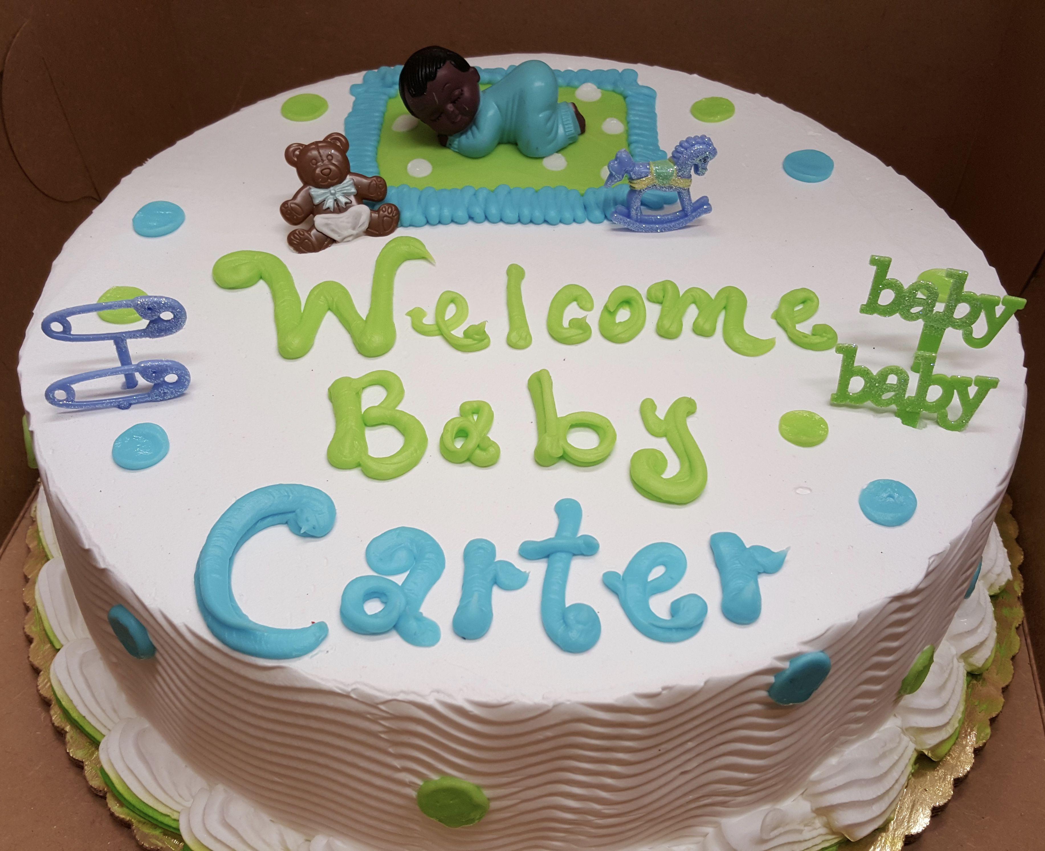 Calumet Bakery Baby Shower Cake