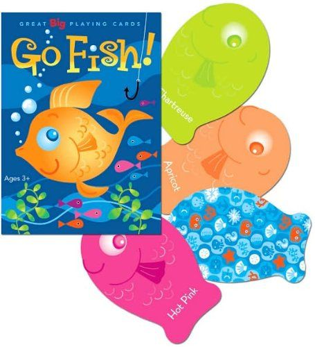 Amazon Com Eeboo Color Go Fish Playing Cards Toys Games Card Games For Kids Classic Card Games Board Games For Kids