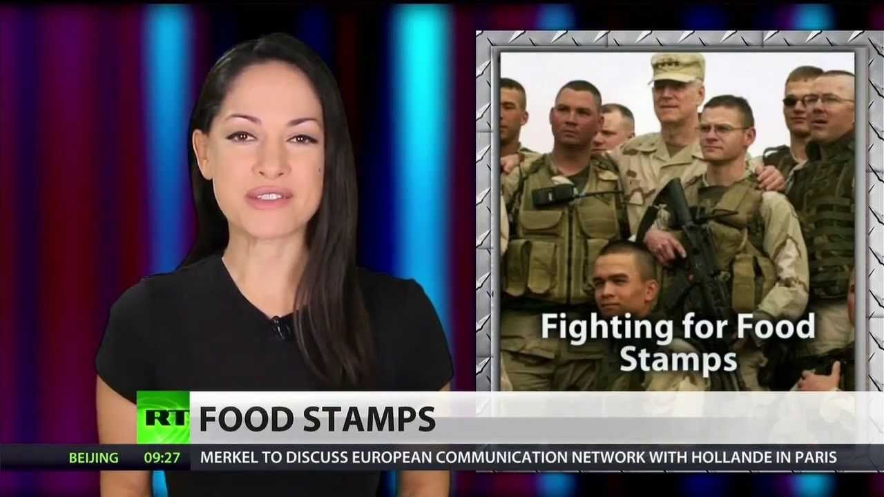 US soldiers used 100 million in food stamps in 2013