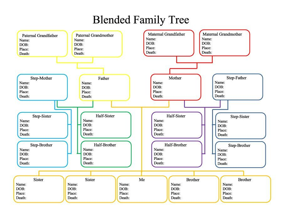 Family Tree Template   Family    Family Tree
