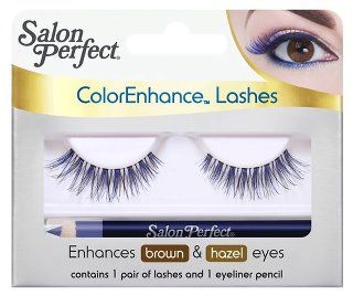 I BOUGHT THESE COLOR ENHANCE EYELASHES AND I LOVE THEM, I HAVE PURPLE ONES AS WELL!!!!