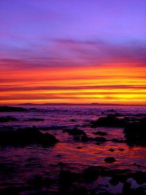 Mallory S Sunshine Stellar Purple Sunset Blue Sunset Sunset
