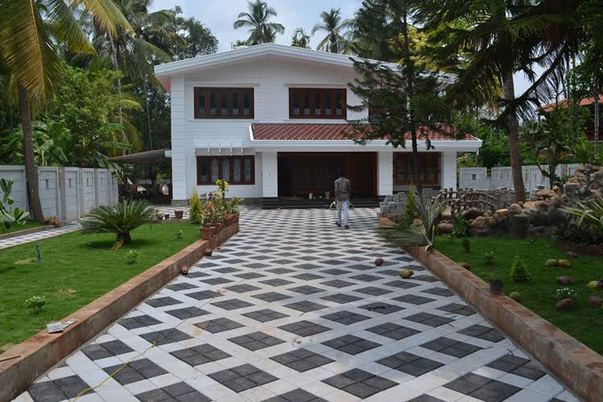Photos of Interlock tiles pavement done by ...