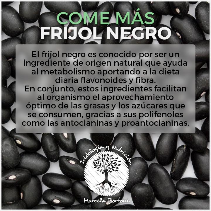 Frijol Negro  Recuerda antes de cocinar las lentejas o frijoles o garbanzos o habas, remojarlas mínimo 12 horas con una pizca de bicarbonato.