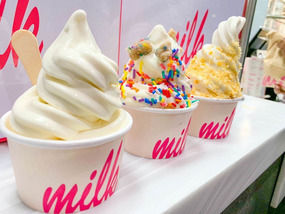 Cereal Milk Soft Serve Ice Cream Bar Los Angeles Is Now Open And People Are Flocking From All Over For These Tasty Treats Cookies Cakes