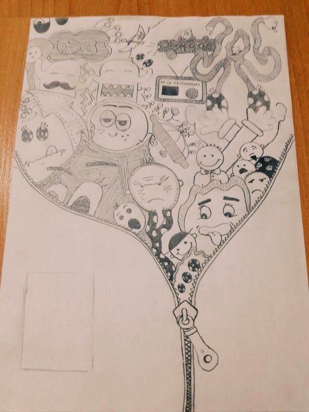 Karalama Sanatı Kendi çizimlerim Pinterest