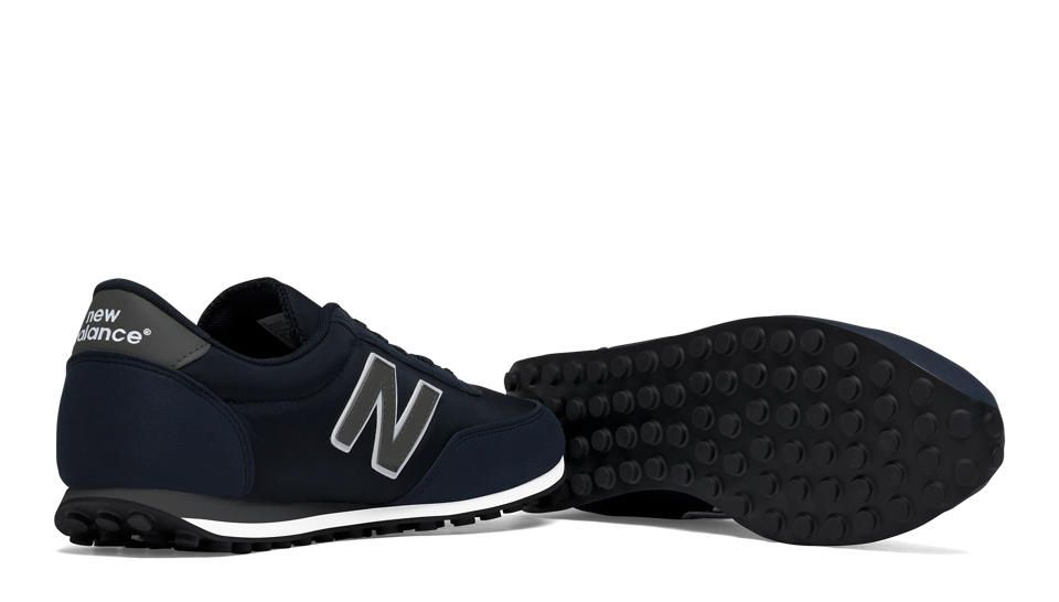 new balance black and white 410