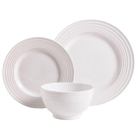 White Dinnerware Sets  sc 1 st  Pinterest & Pin by Valerie Trammel on Kitchen | Pinterest | White dinnerware