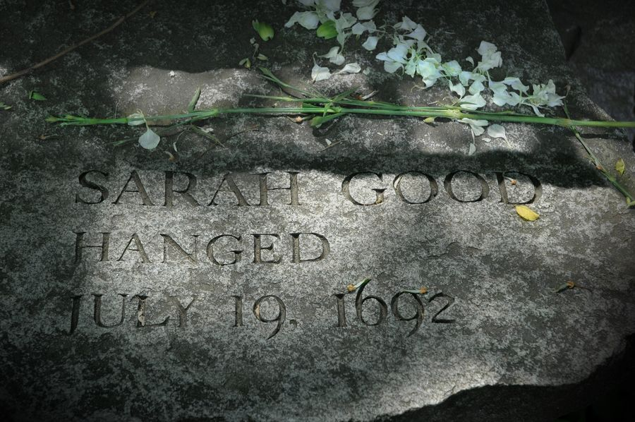 the witchcraft case of sarah good The tale of the timeline : sarah good of the the case of sarah good account of supposed witchcraft 1 my wife sarah good was in prison.