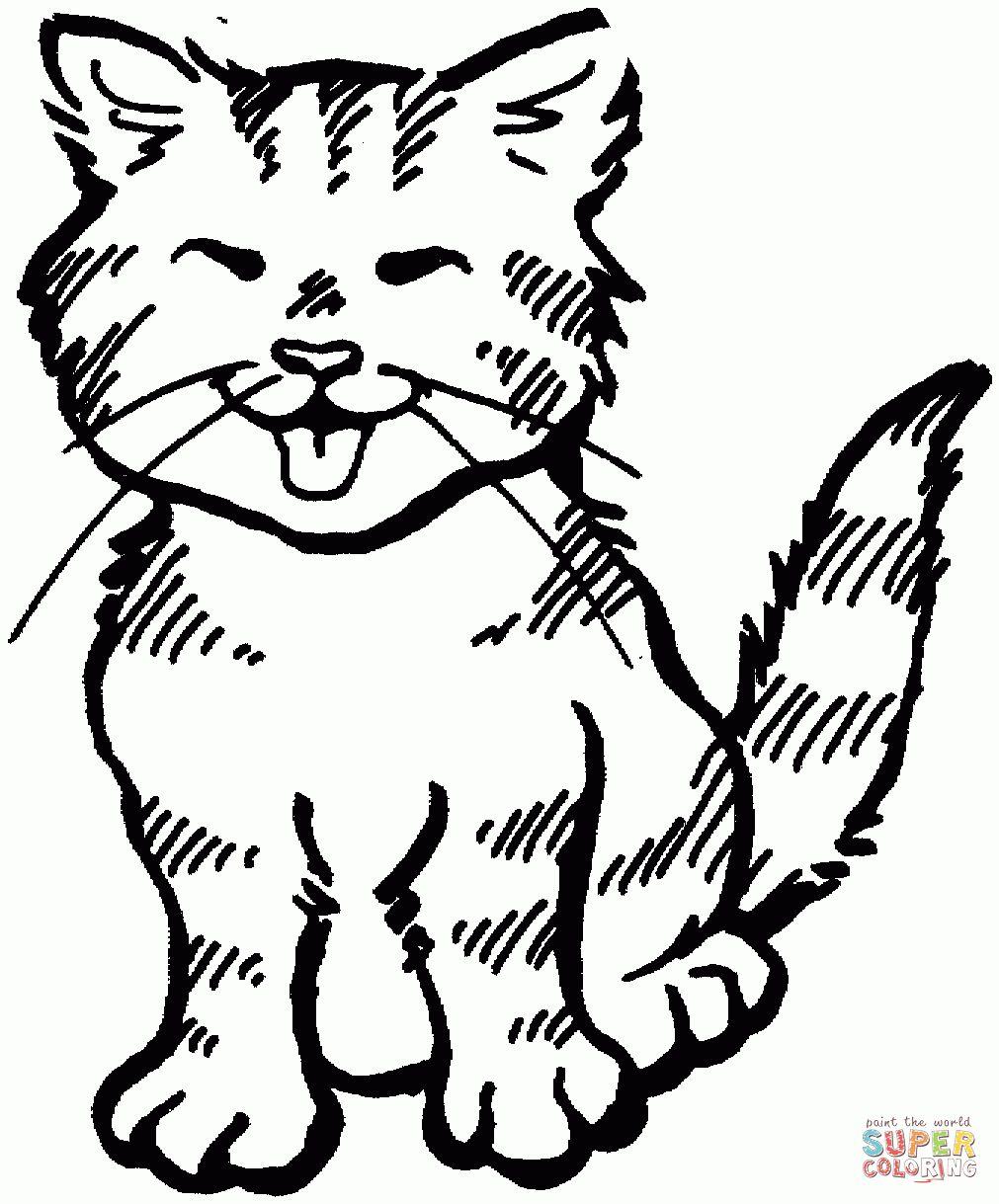 ausmalbilder katzen  malvorlagen kostenlos zum