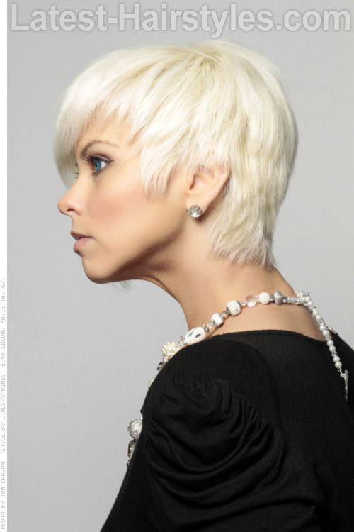 Incredible 1000 Images About Short Hairstyles On Pinterest Platinum Blonde Short Hairstyles Gunalazisus