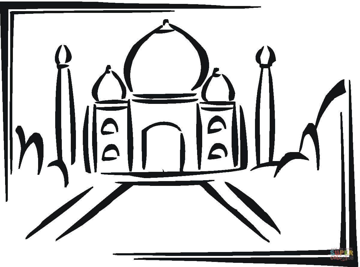how to draw the taj mahal in 5 steps - Поиск в Google | Домик ...