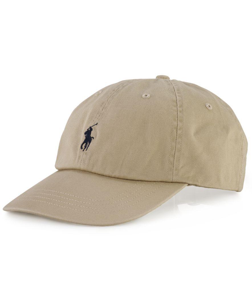 Polo Ralph Lauren Core Classic Sport Cap - Hats, Gloves & Scarves - Macy's