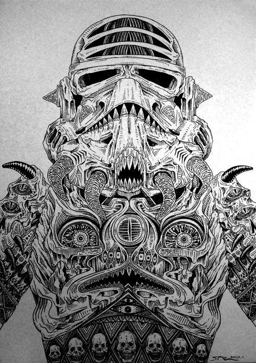 Predator Storm Trooper... ummmm... Awesome.