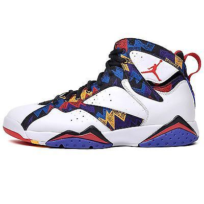 detailed look b19a6 e04af Nike Air Jordan 7 VII Retro Sweater Mens 304775-142 Basketball Shoes Size 9