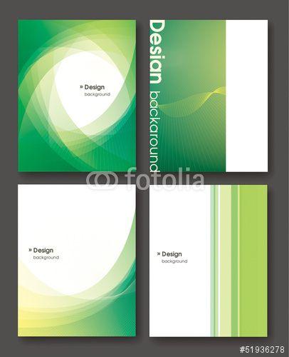 ベクター パンフレット表紙点 Idea Brochure Design Pamphlet Design